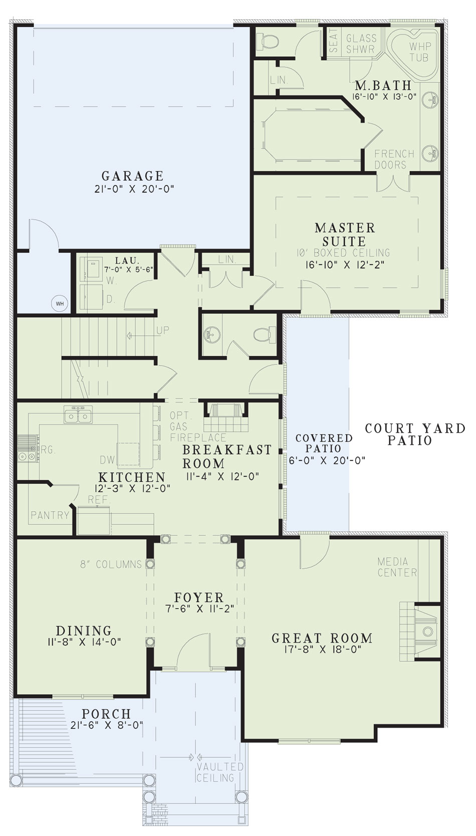 House Plan NDG 391 Main Floor