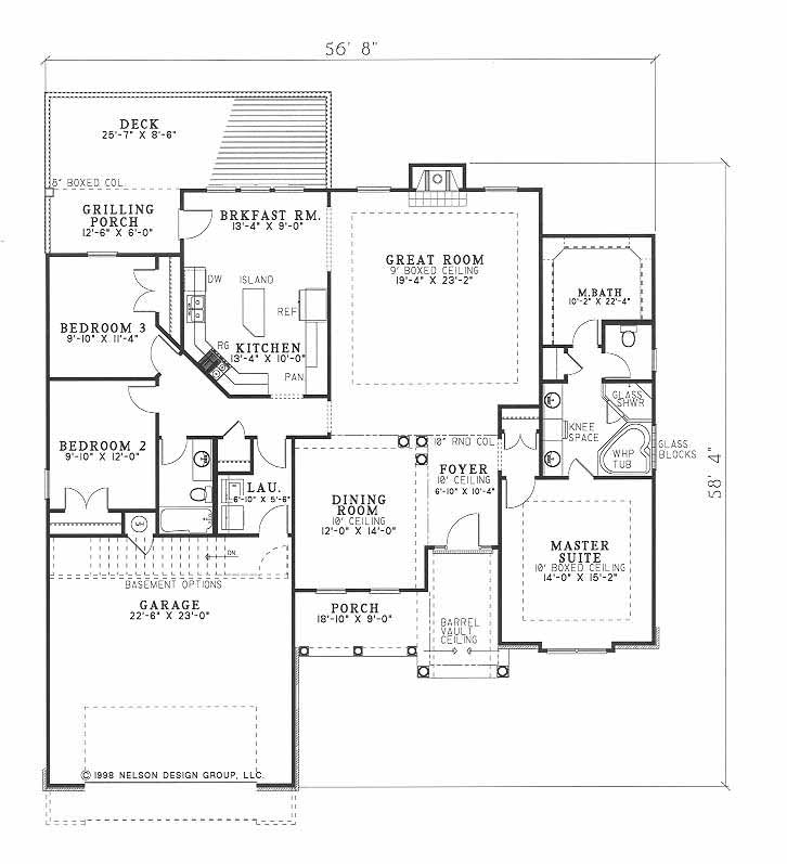 House Plan NDG 339 Main Floor