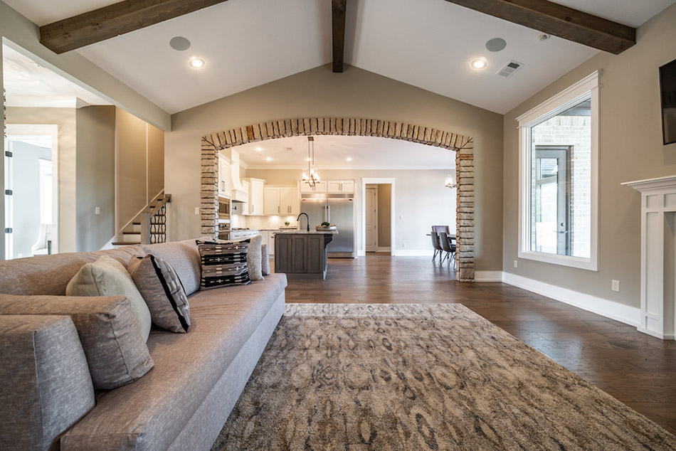 House Plan SMN 1022 Great Room