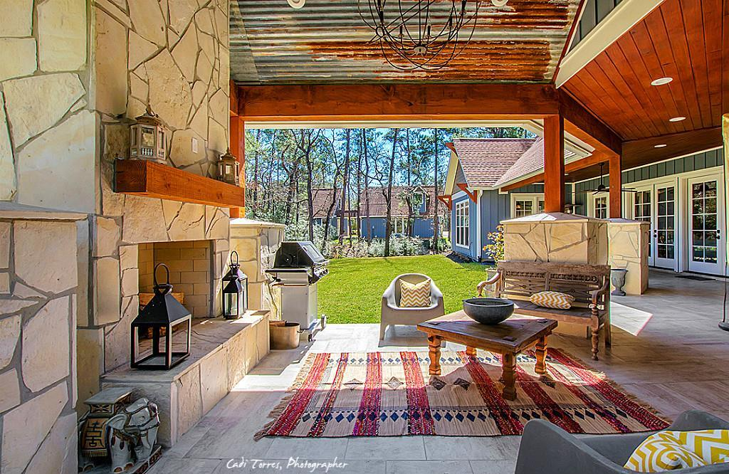 House Plan NDG 1277 Outdoor Living Area